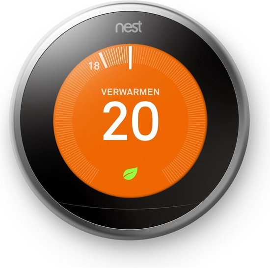 Google Nest Learning Thermostat Slimme thermostaat kopen