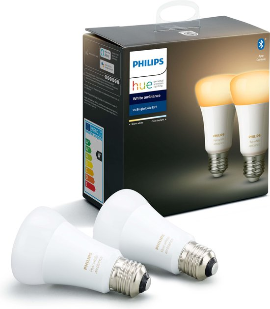 Philips Hue Duopack - White Ambiance - E27
