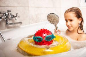 Besparen onder de douche