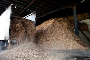 opgeslagen biomassa gft afval