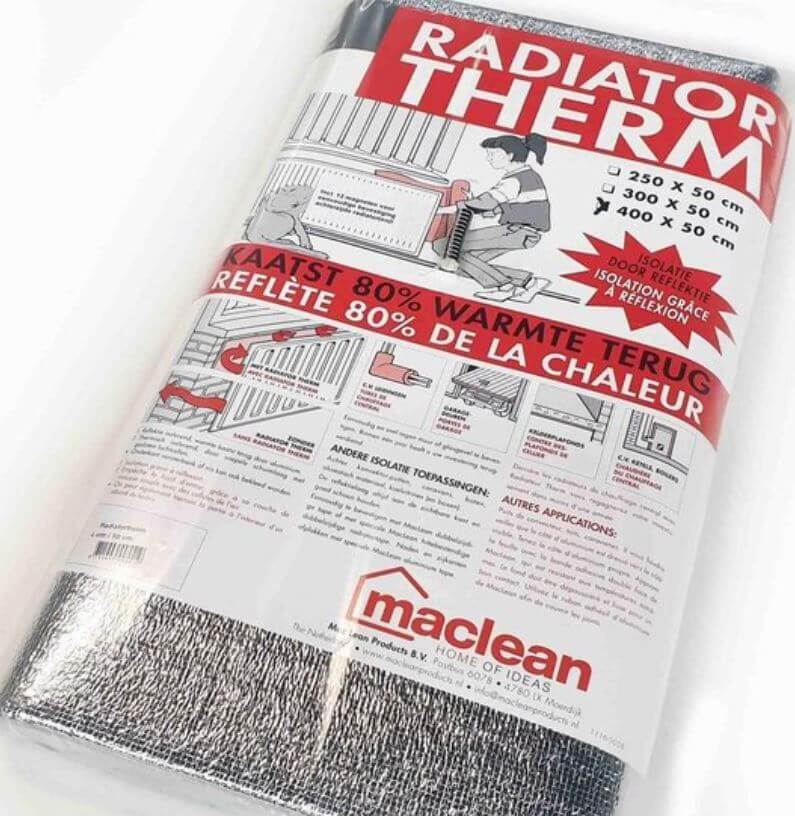 Radiatorfolie Isolatie Inclusief 12 magneten