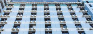 Split Airco flatgebouw