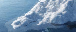Klimaatakkoord tegen smelten van de ijsberg