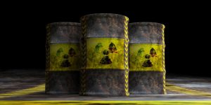Radioactief afval van kernenergie