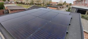 Voorbeeld Zonnepanelen plat dak