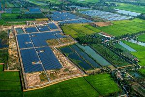 Zonne-energie boerderij