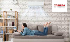 Toshiba Airco voor het koelen en verwarmen van lucht