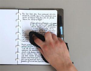duurzaam en uitwisbaar notitieboek