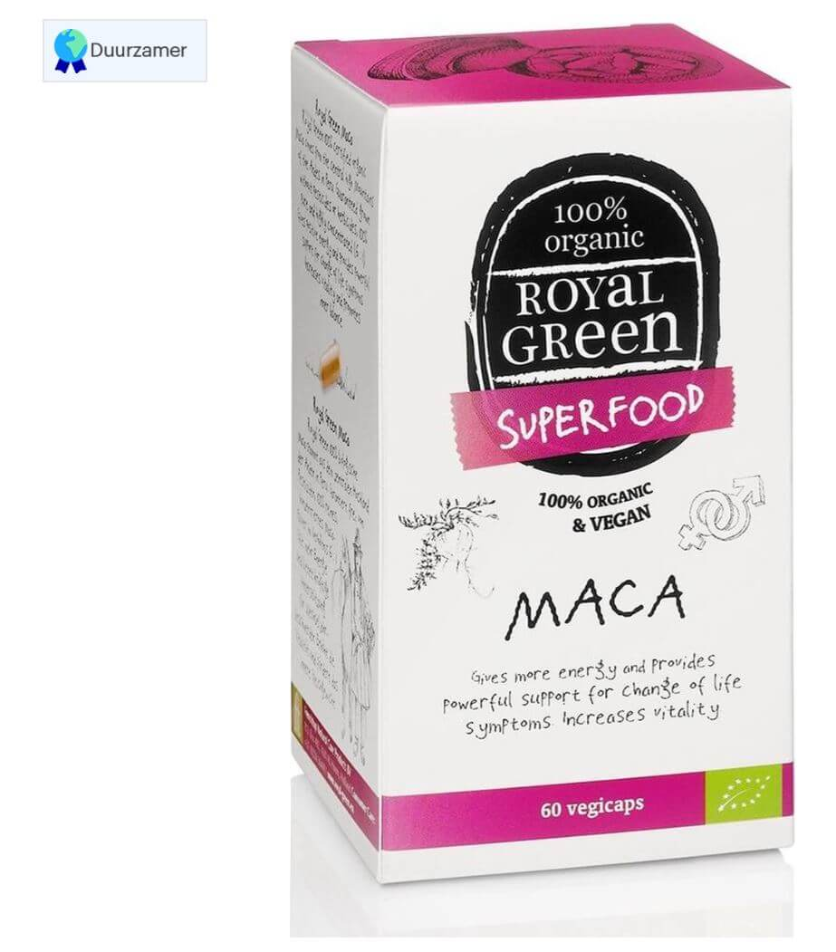 Royal Green Biologische Maca