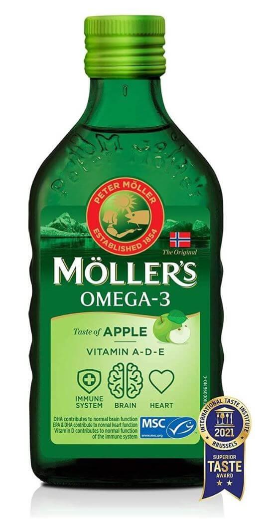 Möller's omega 3 met levertraan