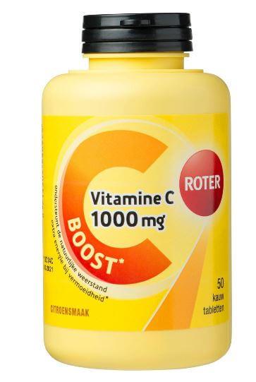 Roter Vitamine C Kauwtabletten